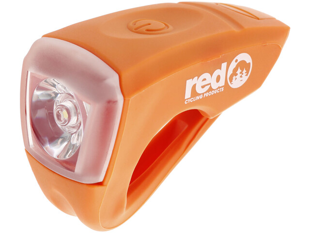 Red Cycling Products Urban LED USB Bike Light orange